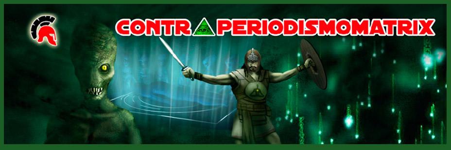 Contraperiodismo Matrix – Teoria de la conspiracion Logo